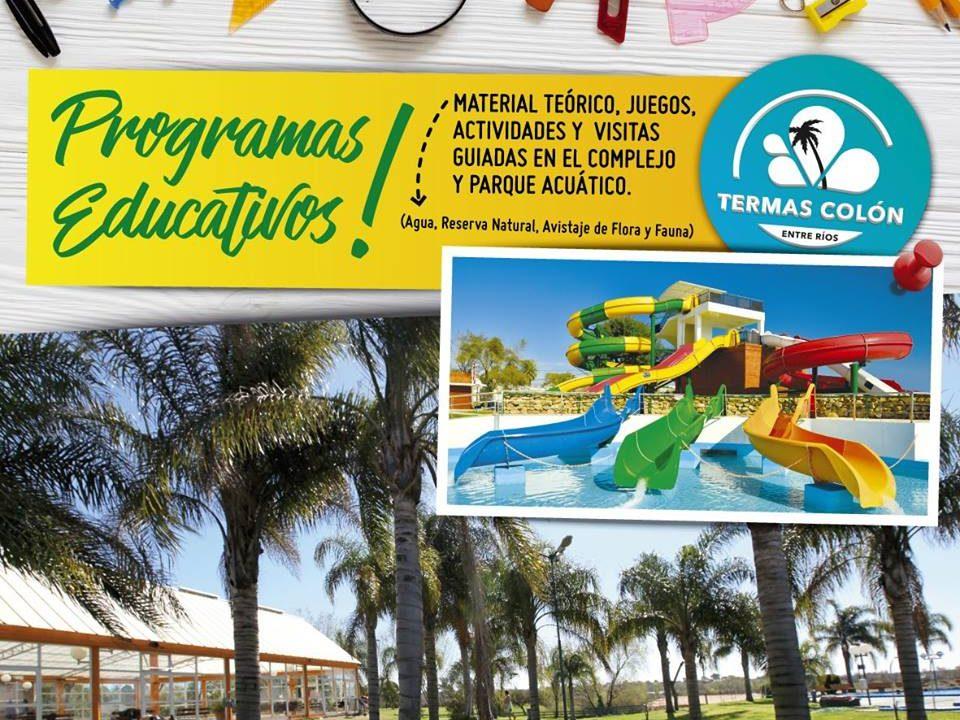 Termas Colón – Programas Educativos