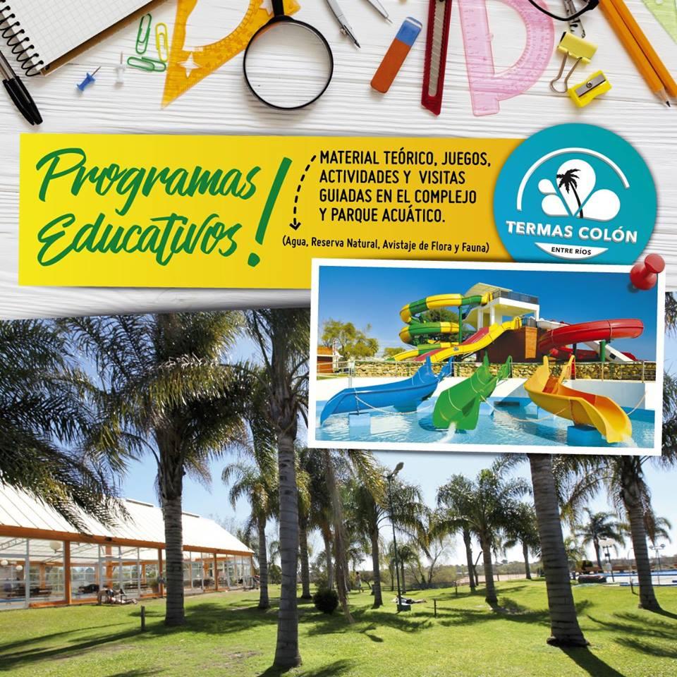 Termas Colón - Programas Educativos